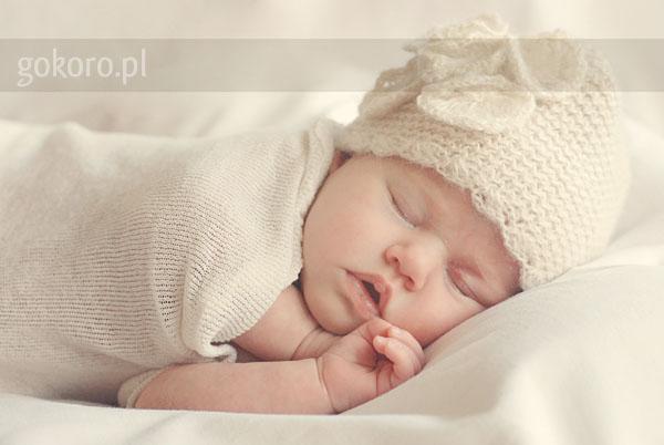 Vanilla Cream - sesja noworodkowa