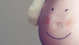 Uśmiech - sesja ciążowa